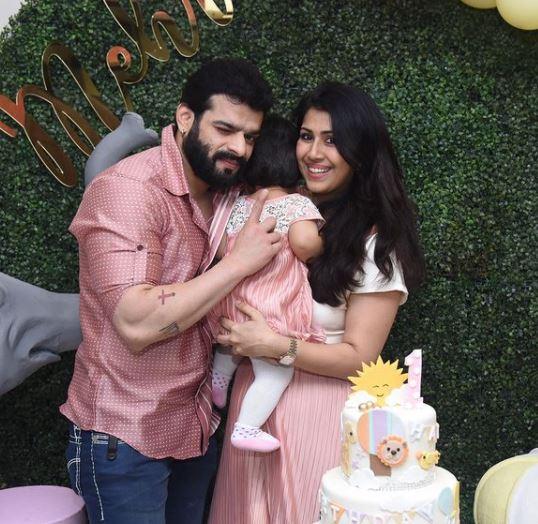 Karan Patel and Ankita Bhargava   s daughter Mehr turned one on December 1