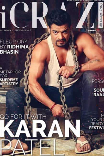 Karan Patel covered on a magazine cover