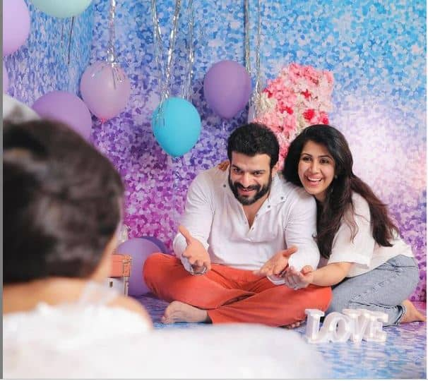 Karan Patel shared a picture of him and Ankita  who held Mehr