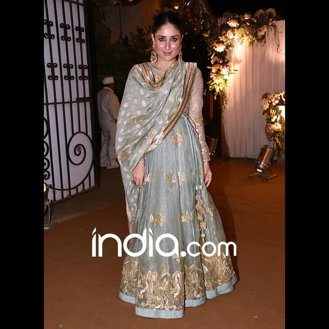 Kareena Kapoor Khan at Anaita Adjania   s residence