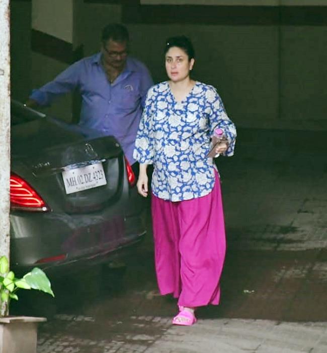 Kareena Kapoor Khan Gives Fashion Goals in  Ghar Ka Outfit