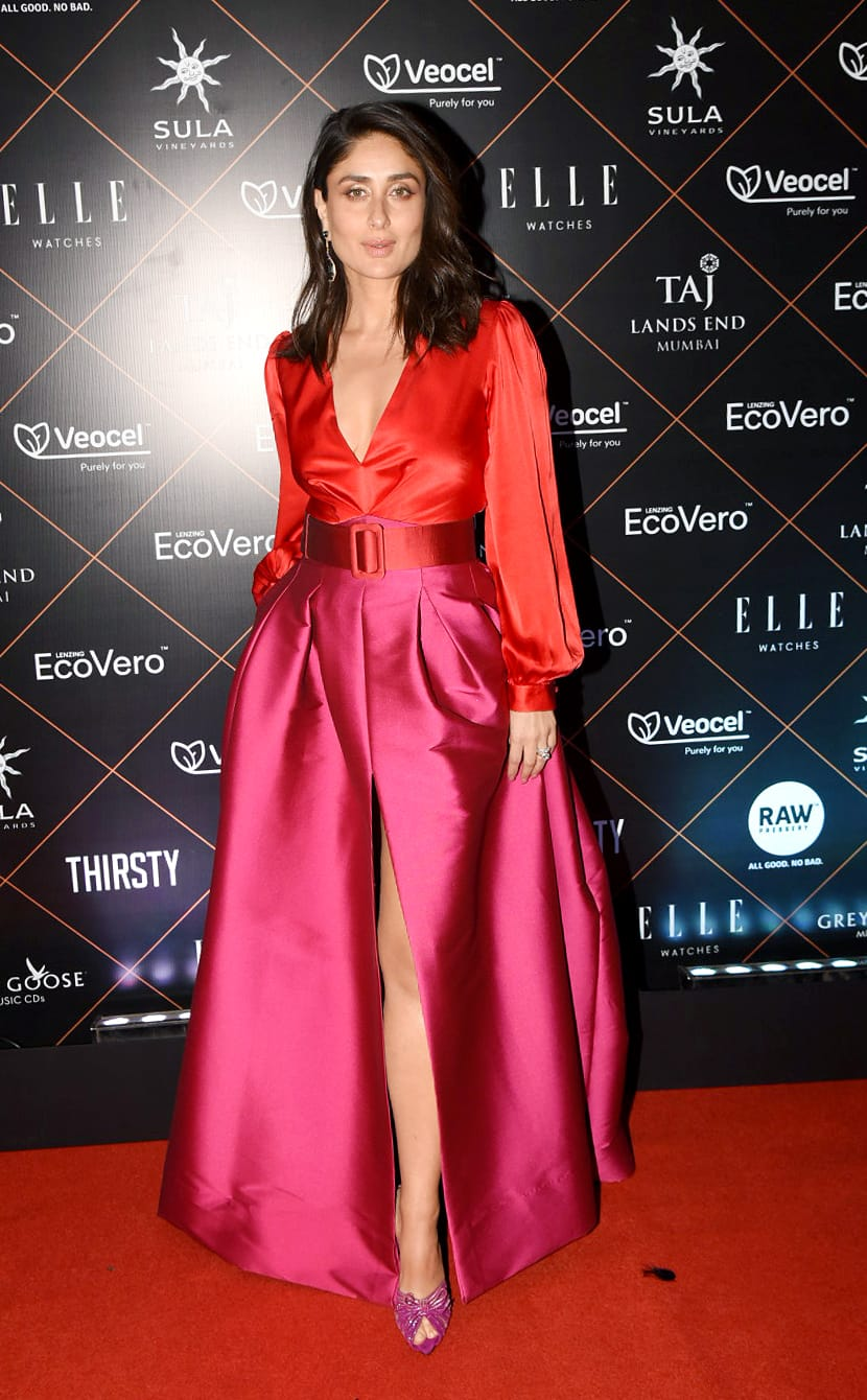 Kareena Kapoor Khan matched the sexiest pink with the hottest red