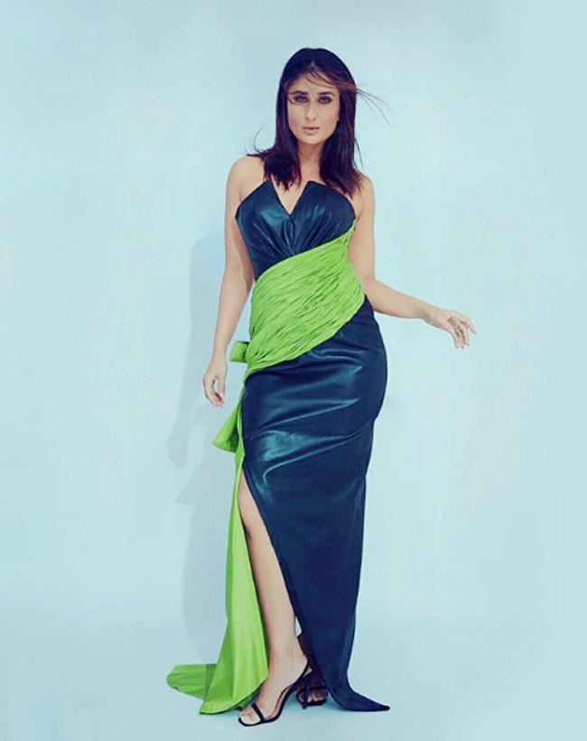 Kareena Kapoor Khan on Wednesday got all eyes on her hot look