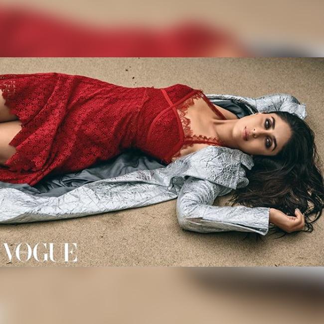 Kareena Kapoor Khan slays in red for Vogue magazine shoot