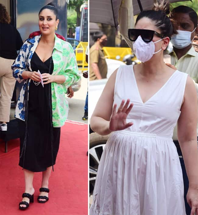 Kareena Kapoor Khan spotted at the studio in white comfy dress