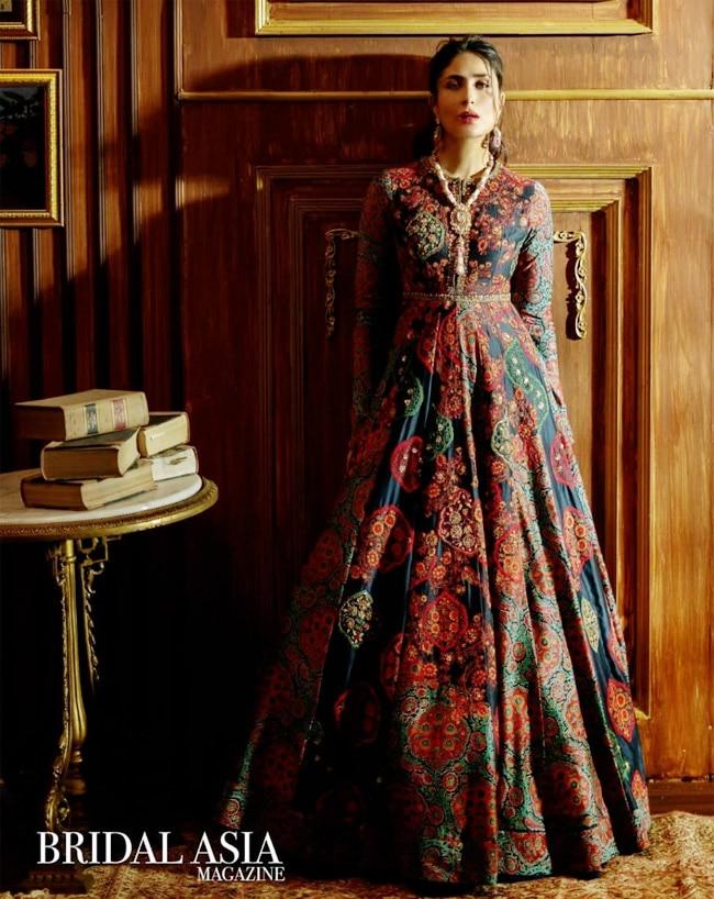 Kareena Kapoor Khan   s Printed Gown Look is Hard to Miss