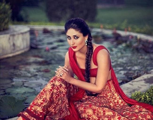 Kareena Kapoor looks super hot in red lehenga