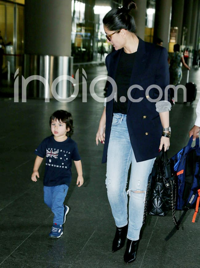 Kareena Kapoor returns with Taimur Ali Khan