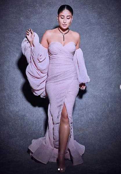 Kareena Kapoor Slays in Pink Gown With a Fishtail