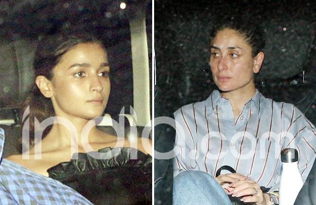 Kareena Kapoor s dress down look vs Alia Bhatt s stylish look