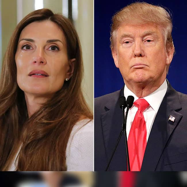 Karena Virginia accused Donald Trump of molestation