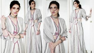 Karishma Tanna's Latest Photos Are Guide to Wear Smart Casuals Like a Red-Carpet Outfit | See Stunning Pics