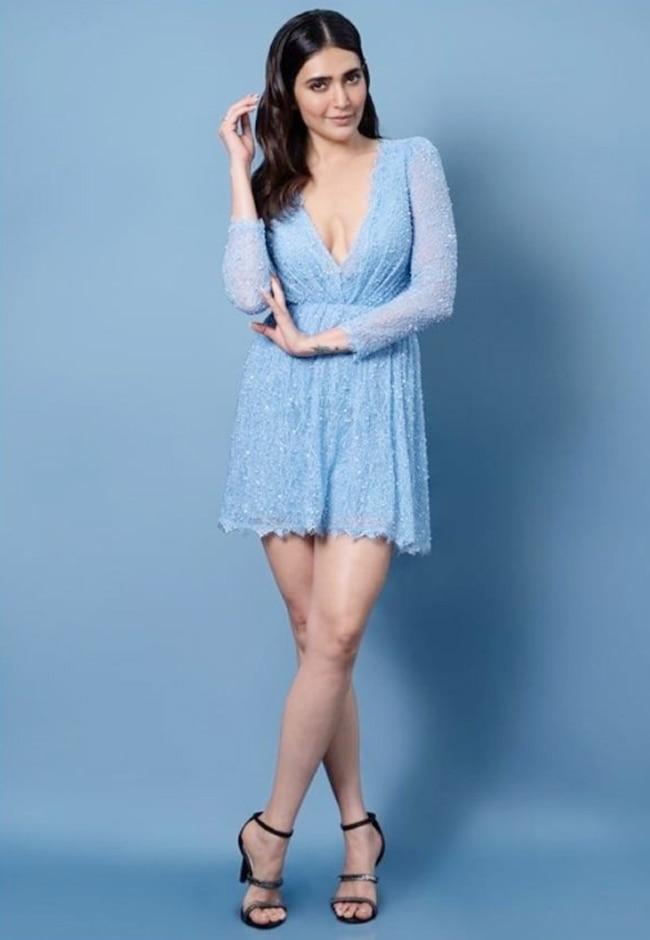 Karishma Tanna is Pretty in Blue