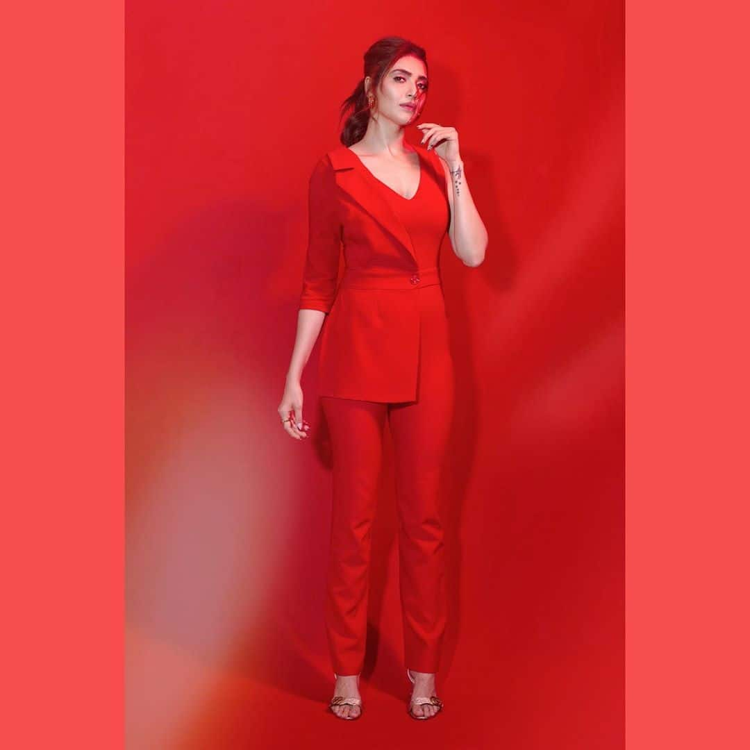 Karishma Tanna Paints The Town Red