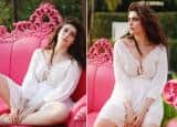 Karishma Tanna Looks Bold And Bubbly in a Comfortable White Dress - See Viral Pics
