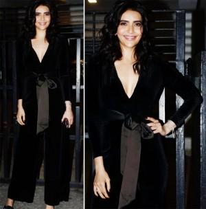 Karishma Tanna Turns Up The Heat in Stunning Black Dress And Subtle Makeup