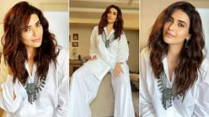 Karishma Tanna is Effortless Chic in White Separates| See Photos