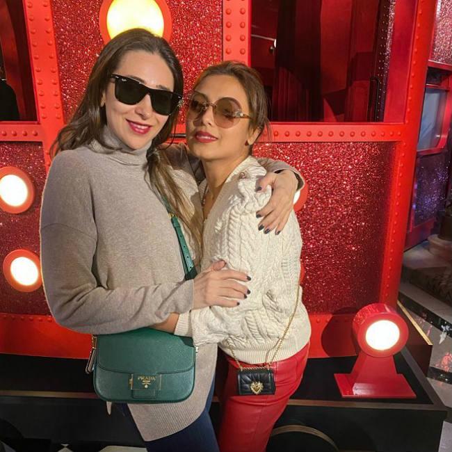 Karisma Kapoor and Rani Mukerji in London