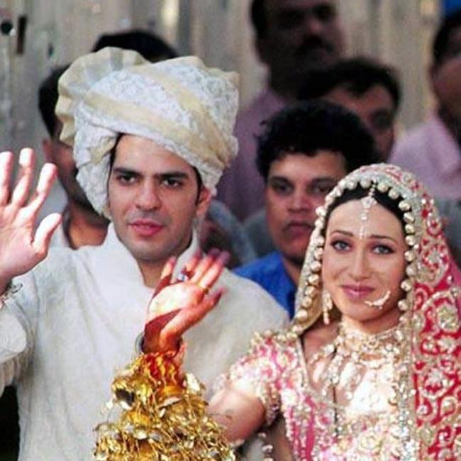 Karisma Kapoor married Sunjay Kapoor in 2003