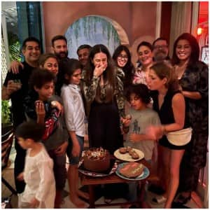 Inside Karisma Kapoor's Birthday Bash at Kareena's House: Vintage Decor, Sparkle-Theme And Lot of Warmth|See Pics