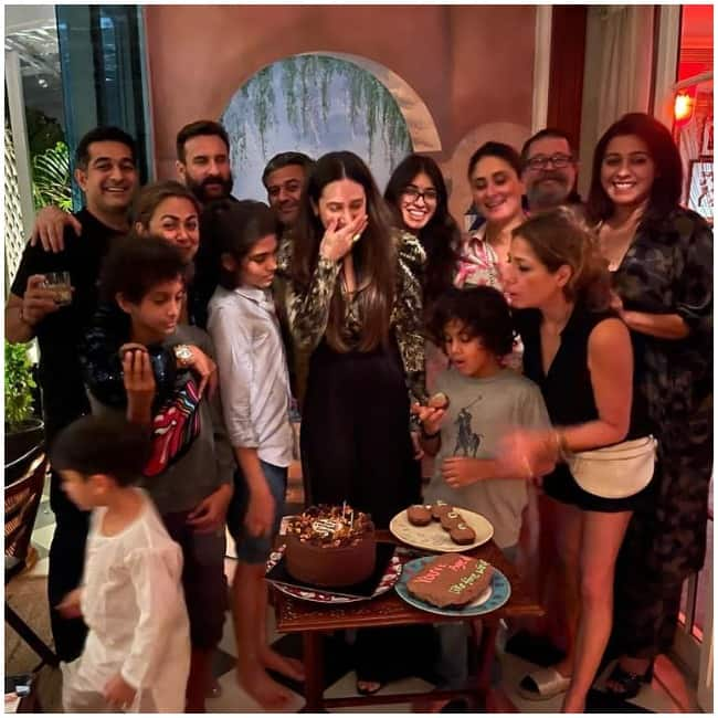 Karisma Kapoor s birthday party  check out all the pictures here