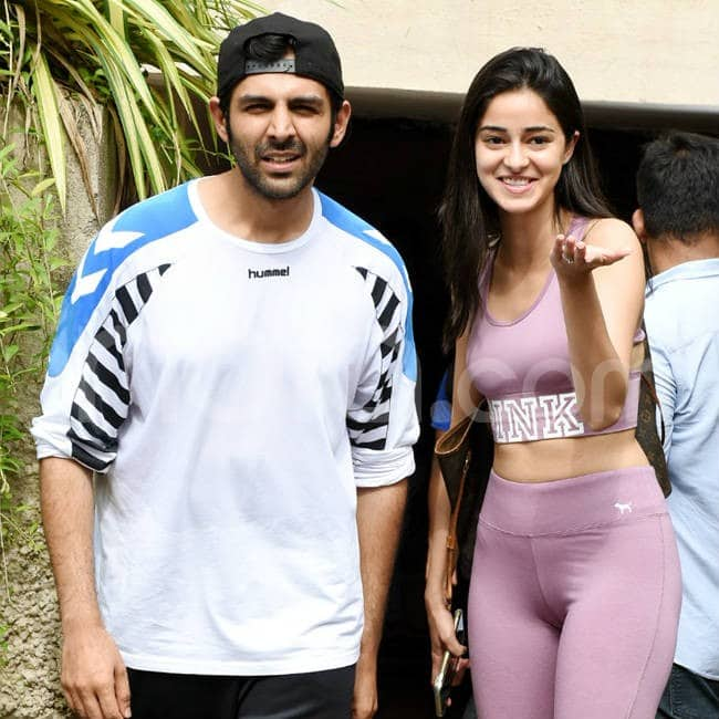 Kartik Aarya and Ananya Panday together