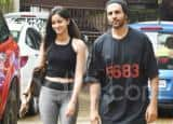 Kartik Aaryan And Ananya Panday Twin in Black at Their Dance Class in Latest Pictures
