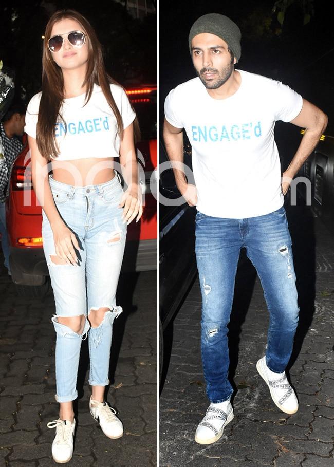 Kartik Aaryan and Tara Sutaria clicked again