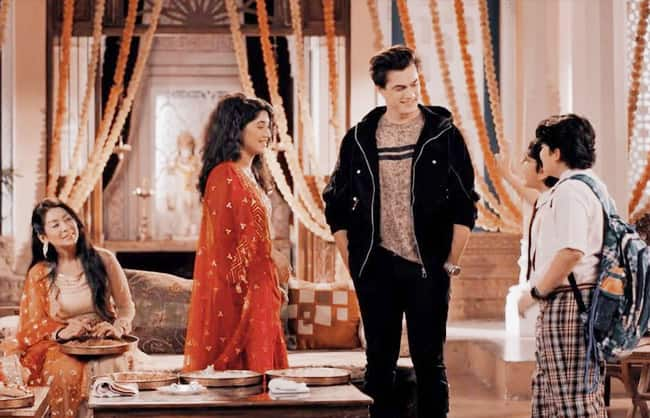 Kartik and Sirat share lovey dovey moments in the latest episode of Yeh Rishta Kya Kehlata Hai