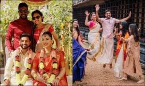 Karun Nair Marries Long-Time Girlfriend Sanaya Tankariwala; Times the Duo Gave Couple Goals | PHOTOS