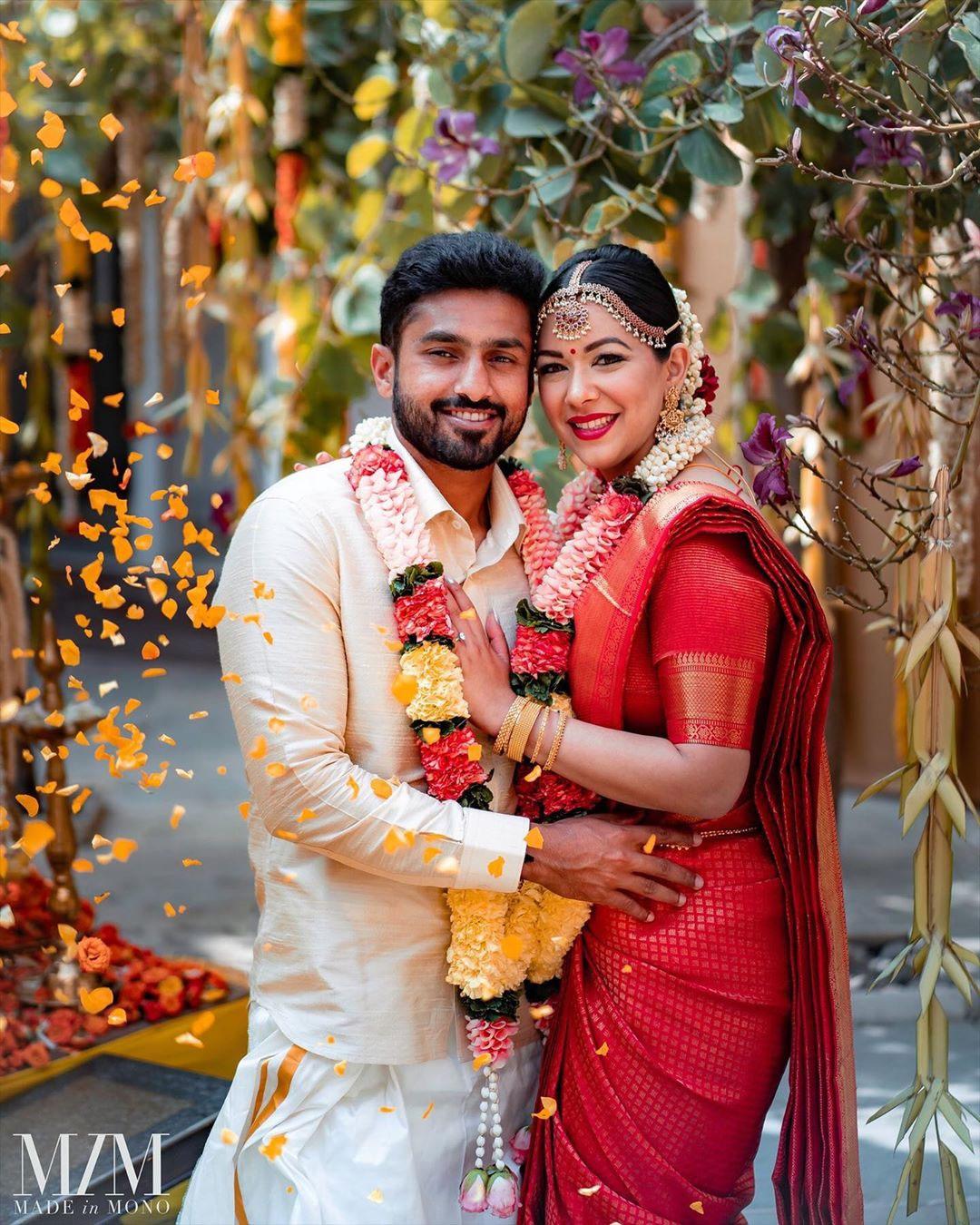 Karun Nair Wife- Sanaya Tankariwala KreedOn
