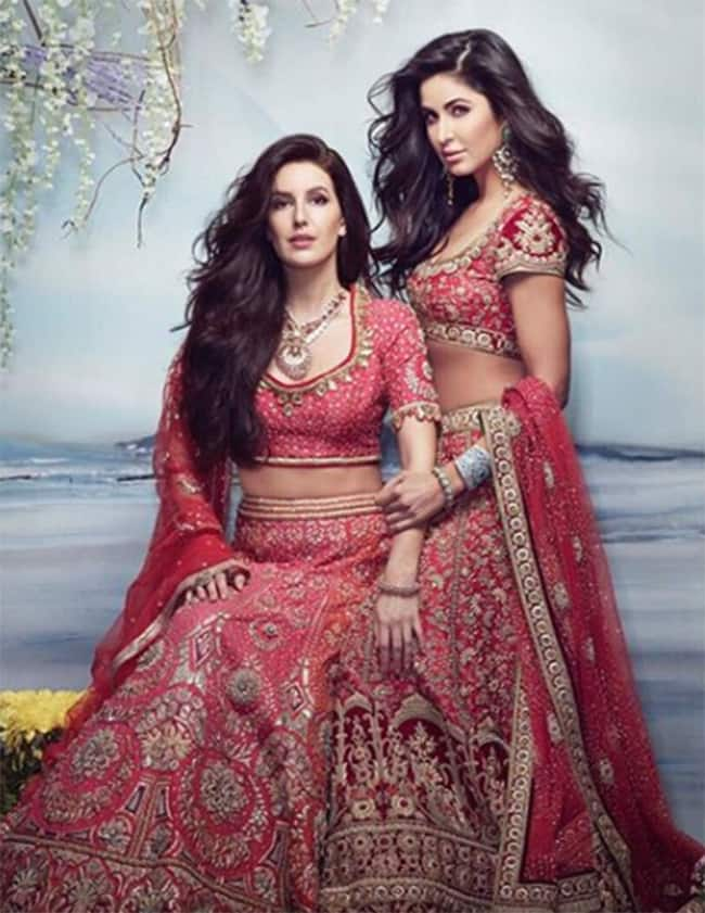 Katrina Kaif and Isabella Kaif in bridal avatar