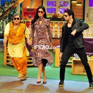 Katrina Kaif shows off her moves on The Kapil Sharma Show, see pics