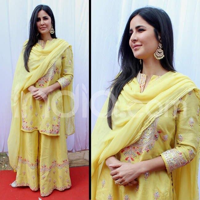 Katrina Kaif attends Anurag Basu s Saraswati puja