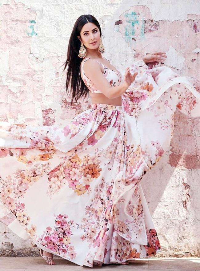 Katrina Kaif top lehenga looks