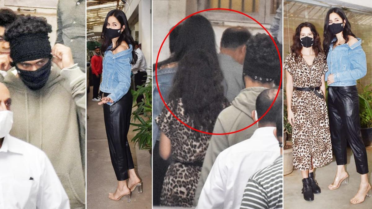 Katrina Kaif Vicky Kaushal Spotted Together At Shershaah Special Screening