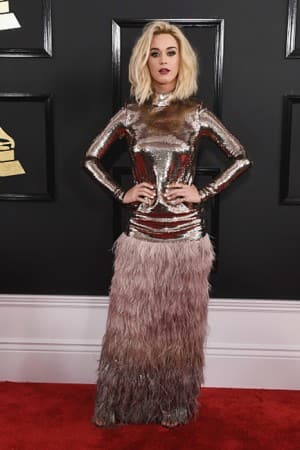 59th Grammy awards: 8 UNIQUELY dressed singers from the red carpet!