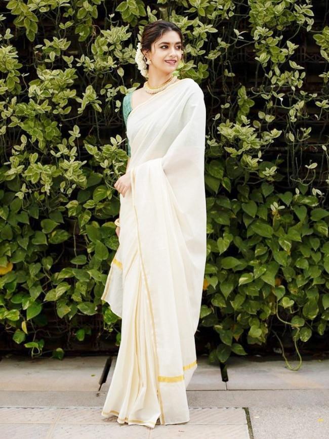 Keerthy Suresh Exudes Charm and Elegance