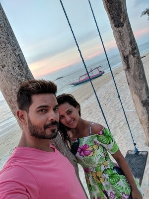 Newly-weds Keith Sequeira and Rochelle Rao's had an intimate honeymoon in Indonesia