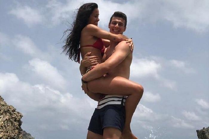 Kepa Arrizabalaga   s girlfriend Andrea Perez