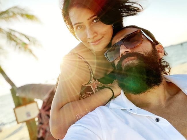 KGF actor Yash and wife Radhika Pandit are vacationing in the tropical island MAldives