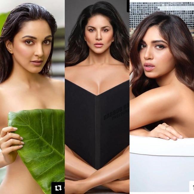 Kiara Adavi  Sunny Leone  Bhumi Pednekar go Nude