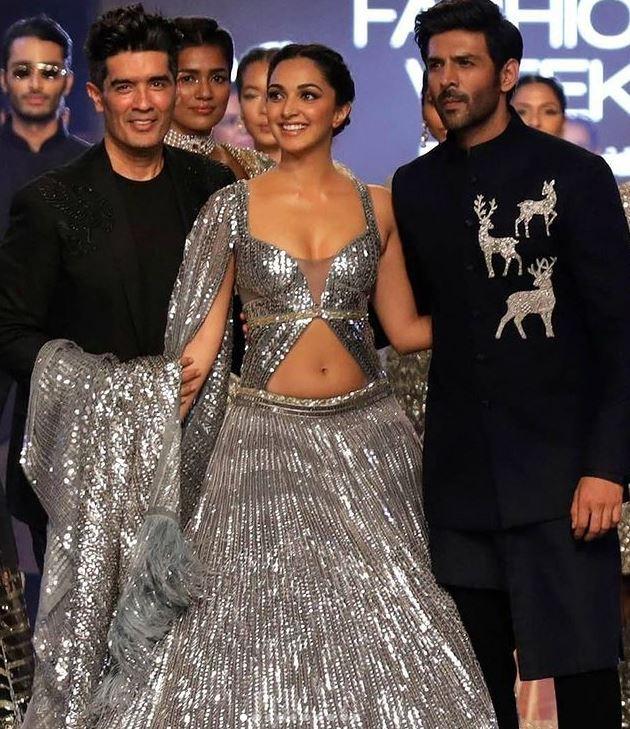 Kiara Advani and Kartik Aaryan graced Lakme Fashion Week 2021 with their hotness
