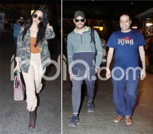 Rumoured Couple Sidharth Malhotra And Kiara Advani Return From Their New Year Holiday