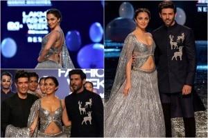 Lakme Fashion Week 2021 Photos: Kiara Advani, Kartik Aaryan Set Ramp Ablaze as Showstoppers For Manish Malhotra