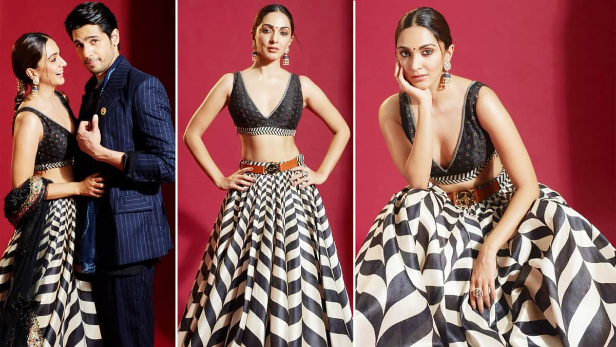 Kiara Advani Sidharth Malhotra Shine In Latest Shershaah Promotions Photoshoot
