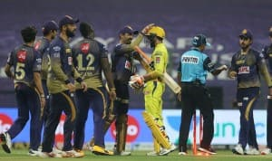IPL 2020, KKR vs CSK, Match 21 In Pictures: Knight Riders Choke Super Kings For 10-Run Win