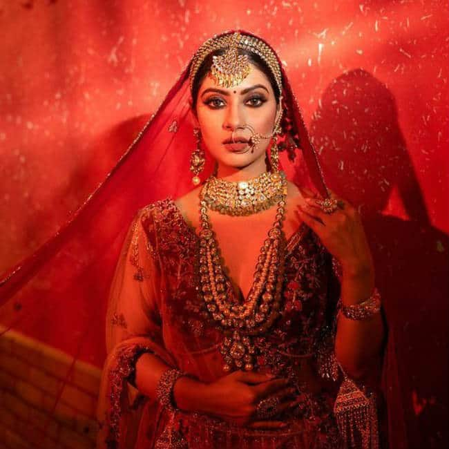 Krishna Mukherjee s bridal look