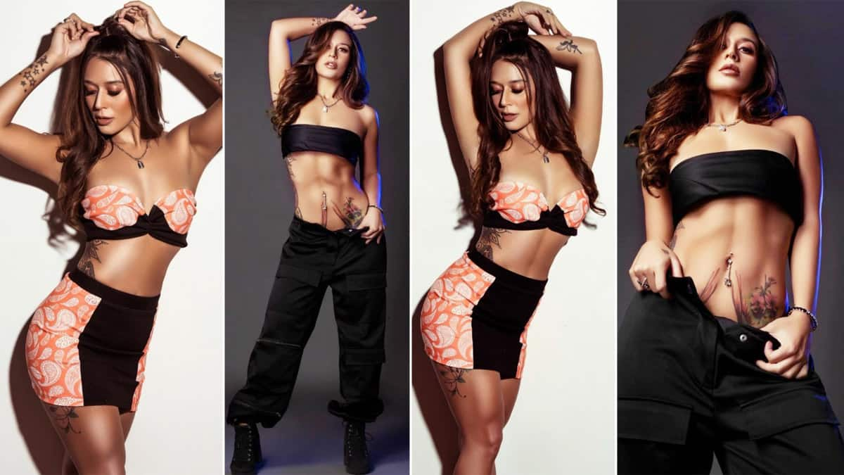 Krishna Shroff Flaunts Her Perfectly Toned Abs in this hot photos for magazine cover