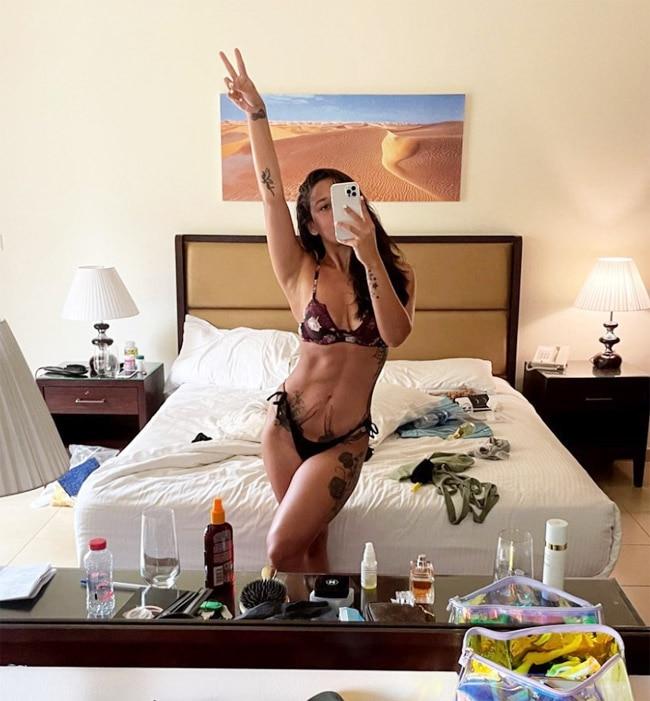Krishna Shroff Goes Sultry in Latest bikini photos 2021